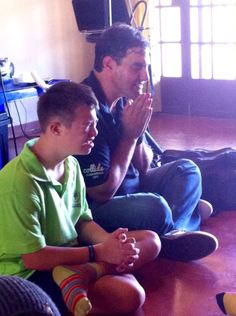 20 March 2015 - Prayer time with Erich Postimus.