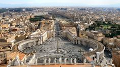 15 Things You Didn't Know About the Vatican. There's more to Vatican City than just the Sistine Chapel. Rome Travel, Italy Travel, St Peters Cathedral, Religion Catolica, Christmas Travel, Travel Memories, World Heritage Sites, Aerial View, Dream Vacations