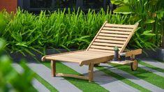 Amazonia Newcastle Patio Bench Made of Real Teak Perfect Patio Bench, Outdoor Furniture, Outdoor Decor, Newcastle, Sun Lounger, Teak, Yard, Gardens, Home Decor