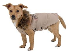 Outdoor Dog Jacket Wild Life Brown 50cm CanAgri
