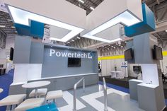 Powertech Stand we designed for the PowerGen Africa Conference.  #expoarchitecture #standdesign #africandesign