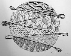 ARM - ONDAS LIBRES [Zentangle]./////////