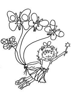 ausmalbilder-lillifee-10 (595×842)   coloring pages
