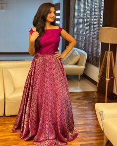 Long Gown Dress, Lehnga Dress, Frock Dress, Dress Skirt, Blouse Dress, Lehenga Saree Design, Lehenga Designs, Kurti Designs Party Wear, Indian Fancy Dress