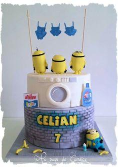 Too funny Minions cake
