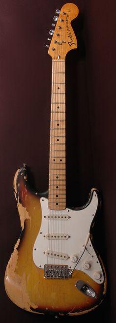 1973 Fender Stratocaster #FenderGuitars