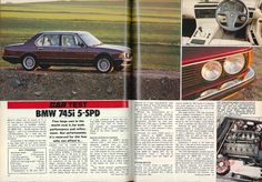 From the Archives: BMW 745i - CARmag.co.za