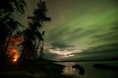 Woodland Caribou Provincial Park Lake Cabins, Night Skies, Lakes, Ontario, Woodland, Northern Lights, Places To Visit, Destinations, Bucket