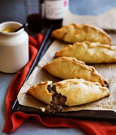 Much loved Cornish Pasties. Family fave.