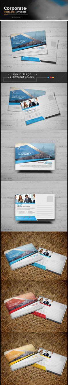 Business Postcard Template Pinterest Business Postcards - 6x4 postcard template