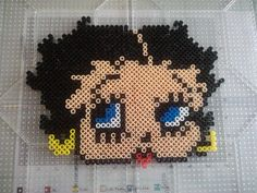 Betty Boop perler beads by Ruth R.- Perler®   Gallery