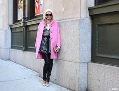 Helena at New York Fashion Week F/W 2014-15