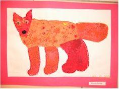 6 art lessons using Eric Carle - Animals Animals Paper Collage - Art and Language Arts - KinderArt