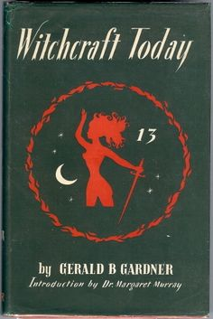 One of the first founders of Wicca.a good read. Wiccan Books, Magick Book, Occult Books, Witchcraft Books, Witch Coven, Believe In Magic, Book Of Shadows, Satan, Tarot
