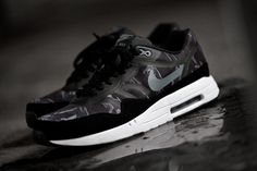 Nike Air Max 1 PRM TAPE Camo Black/Cool Grey/White (2013)