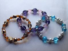 Stack Bracelets by Michelleshandcrafted on Etsy, £15.00