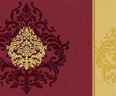 Interfaith Wedding Cards MF2178 Made from high rich color shimmer finish card of fine quality. A very modern and artistic presentation of gold design is decorated with shimmering kundans on left flap, a die-cut flap on right with gold design.