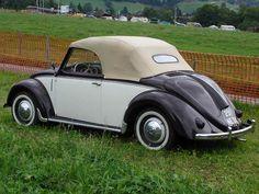 Volkswagen Hebmüller, el primer Escarabajo convertible