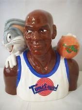 Warner Brothers 1996 Michael Jordan and Bugs Bunny  Cookie Jar #C960