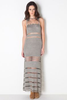 Anja Maxi Dress in Moss by Bec & Bridge .. dream dress x