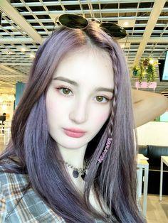 Makeup Korean Style, Ulzzang Korean Girl, Ulzzang Hair, Winner Ikon, Hair Color Streaks, Jeon Somi, Insta Photo Ideas, Dyed Hair, Korean Fashion