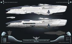 Republic Evangelos Class BC by Galen82.deviantart.com on @deviantART