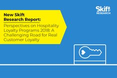New Skift Research Report: What Works Best in Hospitality Loyalty Programs  Skift Take: Despite numerous enhancements and considerable growth in hotel loyalty programs opinions on the effectiveness and value of these programs vary widely among consumers and hotel owners. Our latest report evaluates these differing perspectives and offers hotel companies ways to navigate the challenging road to real customer loyalty.   Rebecca Stone  Read the Complete Story On Skift  https://ift.tt/2JTZ6Bm