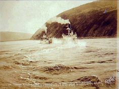 Paddle Wheelers, Yukon River, Klondike Gold Rush