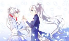 ... I find this really sad.... young Weiss has no idea what's ahead of her