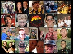 In Memory of Granite Mountain Hotshots Crew 6/30/2013