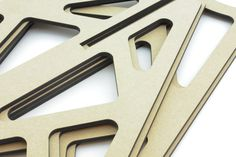 Laserskuren 6mm MDF. | Laser cut 6mm MDF