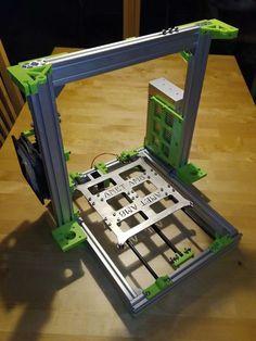 - Metal Frame for Anet version CZ (EU) by Maxinoha 3d Printer Designs, 3d Printer Projects, 3d Printer Supplies, Anet A8, 3 D, Arduino Cnc, 3d Printing Diy, Diy 3d, Prusa I3