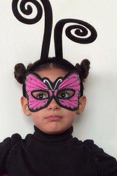"Antifaz mariposa"" Lucía"""