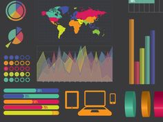 Free infographics Template by James George