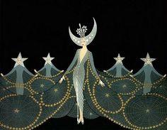 Queen of the Night / Erté