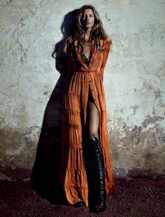 Gisele Bundchen for Vogue Brazil May 2015 - Giorgio Armani