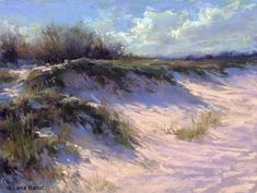 In the Dunes. Pastel on paper. Available in Small Works and Studies section. Beach Landscape, Landscape Art, Landscape Paintings, Landscapes, Photo To Oil Painting, Seascape Paintings, Pastel Paintings, Acrylic Paintings, Acrylic Art
