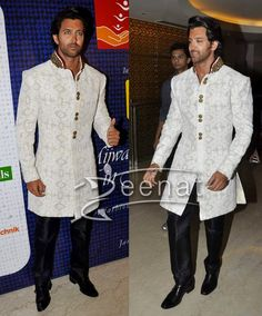 Bollywood-Celebrity-Sherwani-Hrithik-Roshan.jpg (701×846)