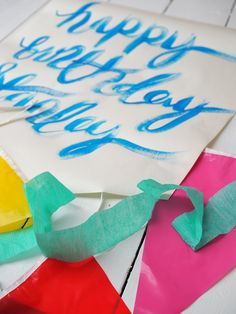 Colorful first birthday party decoration ideas. Lots and Lots