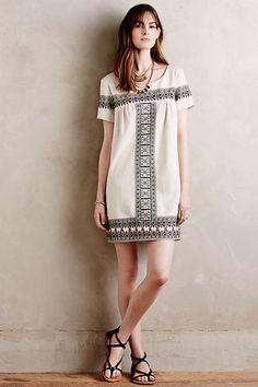 Medellin Tunic Dress #anthropologie