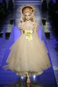 Jean Paul Gaultier Haute Couture Spring 2007 - Les Vierges Collection - this will always be my favorite bye