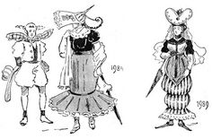 Fashions of the Future as Imagined in 1893 | The Public Domain Review