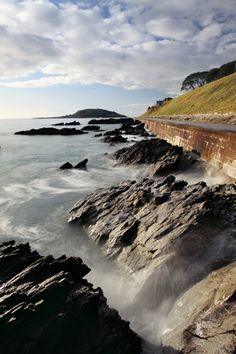 Towards Looe Island - Looe, Cornwall, UK traditionally known as St George's Island and historically St Michael's Island a centre for trade in pre-Roman Britain. According to legend Joseph of Arimathea  landed here with the child Christ