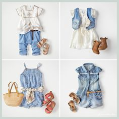 Baby girl denim.. perfection!