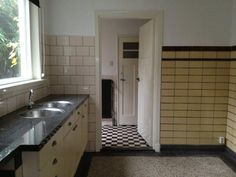 tegels jaren 30 geel | 3d ontwerp  | monique van waes mozaiek.com
