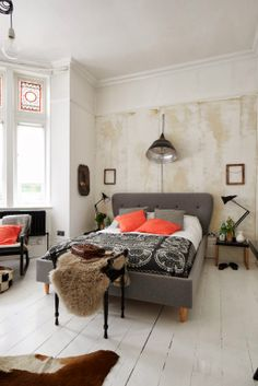eclectic bedroom, via Life Unstyled blog Stylist Emily Henson Photography Catherine Gratwicke
