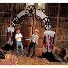 Western Boot Arch