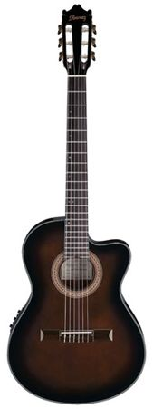 Ibanez GA35TCE Thinline Classical Acoustic Electric Guitar