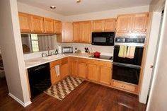 The Arbors Ann Arbor kitchen on Hillside end unit