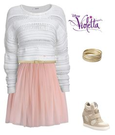 Designer Clothes, Shoes & Bags for Women Teenager Outfits, Girly Outfits, Summer Outfits, Cute Outfits, Fashion Outfits, Violetta Outfits, Violetta Disney, Teen Girl Fashion, Womens Fashion